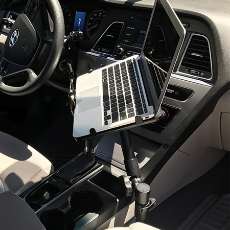 Laptop Mount with Laptop Tray for your Vehicle (for devices up to 16 inches wide)