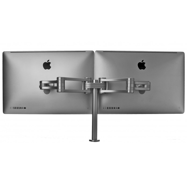 Boa Dual Desk Mount for your PC Mac Monitor or iMac up to 55 lbs