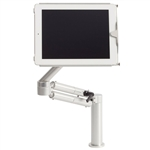 Universal Tablet Mount with Dual Articulating Arm, Locking