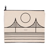 Minimal Bridge Zipper Culk Pouch