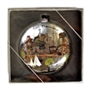 San Francisco Golden Gate Bridge Round Glass Ornament by SF Mercantile