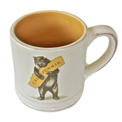 I Love You California Bear Mug by SF Mercantile