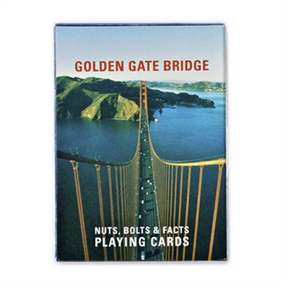San Francisco Golden Gate Bridge Facts Cards