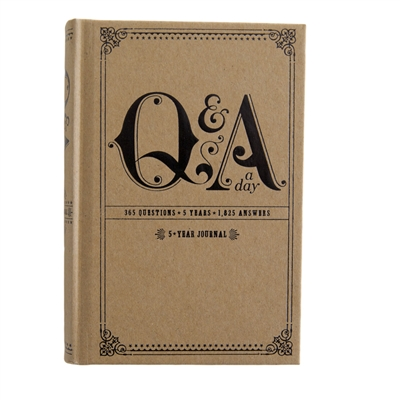 Q&A a Day:  365 Questions, 5 Years Journal