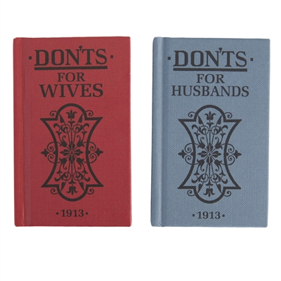 Don'ts for Wives and Husbands