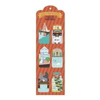 San Francisco Magnetic Bookmarks
