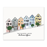 Painted Ladies 8x10 print by Slightly Stationery