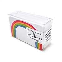 Rainbow Little Notes by E. Frances Paper