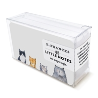 Cats Meow Little Notes by E. Frances Paper