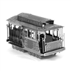 Metal Earth San Fancisco Cable Car 3D Model Kit