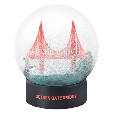 San Francisco Golden Gate Bridge Fog Globe