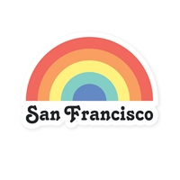 SF Rainbow Sticker