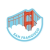 SF Golden Gate Bridge Sticker