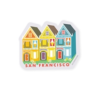SF Painted Ladies Sticker