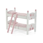 18-Inch Doll Furniture - Stackable Bunk Bed with Ladder - fits American Girl ® Dolls
