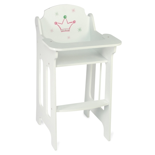 18Inch Doll Furniture High Chair fits American Girl Dolls