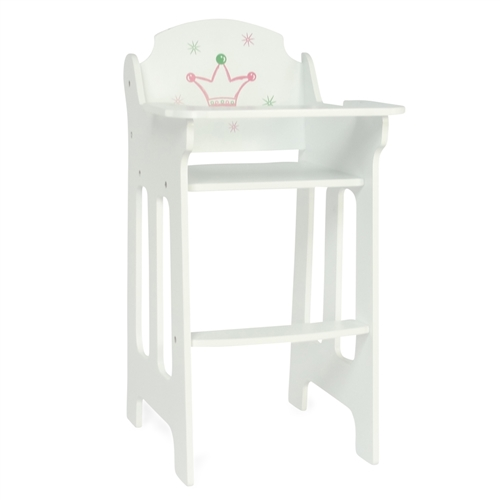 Brilliant 18 Inch Doll Furniture High Chair Fits American Girl Dolls Machost Co Dining Chair Design Ideas Machostcouk
