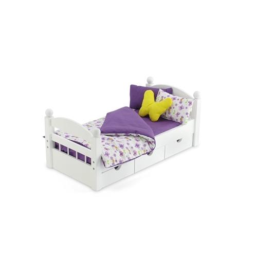 18 Doll Mattress /& Bedding Set