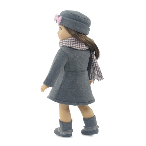 Doll Clothes Sequin Hat and Boots fit 18 inch American Girl