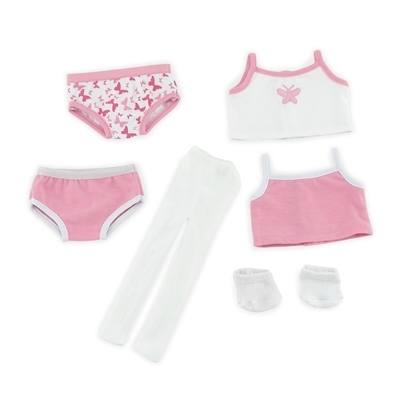 18-inch Doll Clothes - Socks, Tights, and Panties with Tank Shirts - fits American Girl ® Dolls