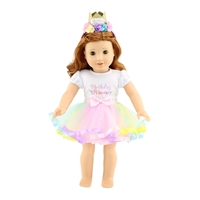 18-Inch Doll Clothes - Birthday Princess Outfit - fits American Girl ® Dolls