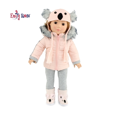 18-inch Doll Clothes - Winter Snow Outfit with Hat and Boots - fits American Girl ® Dolls