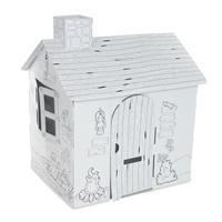 Dollhouse for 18-Inch Dolls - Wild Safari Themed Play House (Ready to Color) - fits American Girl ® Dolls