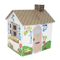 Dollhouse for 18-Inch Dolls - Full-Color Country Cottage Themed Play House - fits American Girl ® Dolls
