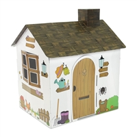 Dollhouse for 18-Inch Dolls - Full-Color Country Farmhouse Themed Play House - fits American Girl ® Dolls
