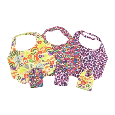 18-inch Doll Accessories - Set of 3 Animal and Colorful Print Doll Carriers - fits American Girl ® Dolls