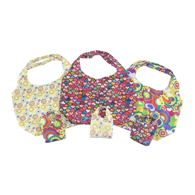 18-inch Doll Accessories - Set of 3 Floral and Hearts Print Doll Carriers - fits American Girl ® Dolls