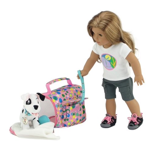 "Dalmatian Dog Pant Set Fits 18/"" American Girl Doll Clothes"
