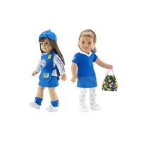 18-Inch Doll Clothes - Daisy Girl Scout Uniform and Accessory Bundle - fits American Girl ® Dolls
