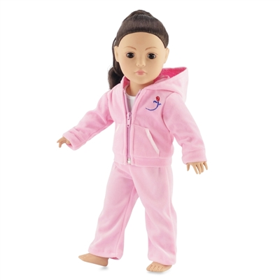 18-inch Doll Clothes - Jogging Suit with Sleeveless Tee Shirt - fits American Girl ® Dolls