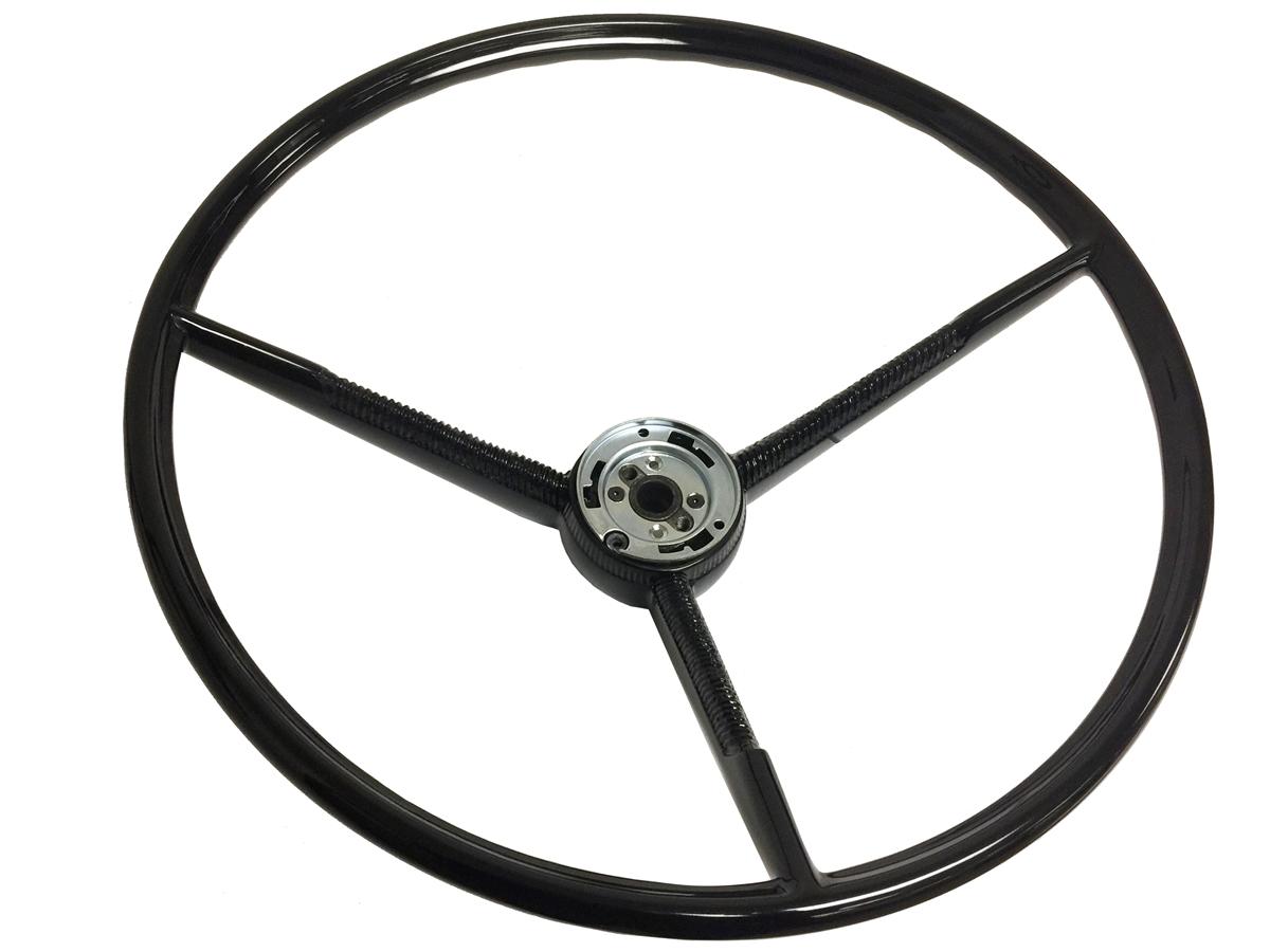 1969 Ford F100 Steering Wheel Black Auto Pro Usa Volante Truck Fairlane Falcon 1200x900