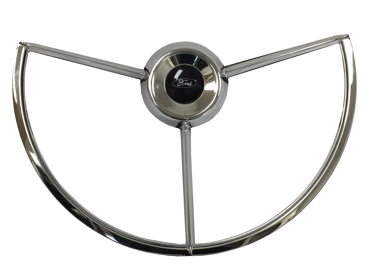1969 Ford F100 Steering Wheel Black Auto Pro Usa Volante Truck Fairlane Falcon 1200x900