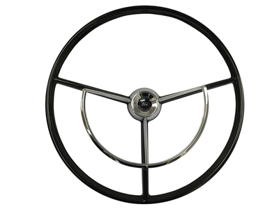 Auto Pro USA , Ford , Falcon , Steering Wheel , kit , black , 1960 , 1961 , 1962 , 1963 , OE , volante , brand new , reproduction , 1964 , 1965 , 1966 , 1967 , 1968 , 1969 , 1970 , Truck , F100 , F150 , F200 , F250 , Ranchero , Fairlane ,