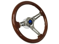 Mopar S6 Mahogany Wood Steering Wheel Kit