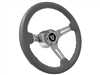 Ford , V8 , Steering Wheel , Kit, Grey , Sport , Chrome , Mustang , Bronco , Torino , Fairlane , LTD , Pick up , Thunderbird , Ranchero , Auto Pro USA , Volante ,