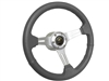 Ford Bronco Sport Grey Leather Steering Wheel Kit