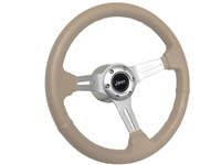 Jeep Mopar Tan Leather Steering Wheel kit