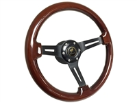 Ford Bronco S6 Wood Steering Wheel Kit