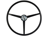 1963 - 1964 Ford Black Steering Wheel