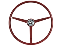 1963 - 1964 Ford Reproduction Red Steering Wheel