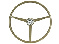 1965 - 1966 Ford Mustang Ivy Gold Steering Wheel