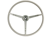 1965 - 1966 Ford Reproduction White Steering Wheel, Alternator