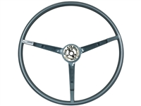 1967 Ford Mustang Reproduction Blue Steering Wheel