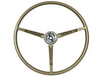 1967 Ford Mustang Reproduction Ivy Gold Steering Wheel