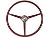 1967 Ford Mustang Reproduction Red Steering Wheel