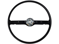 1968 1969 Ford Mustang Black OE Steering Wheel , ST3036BLK